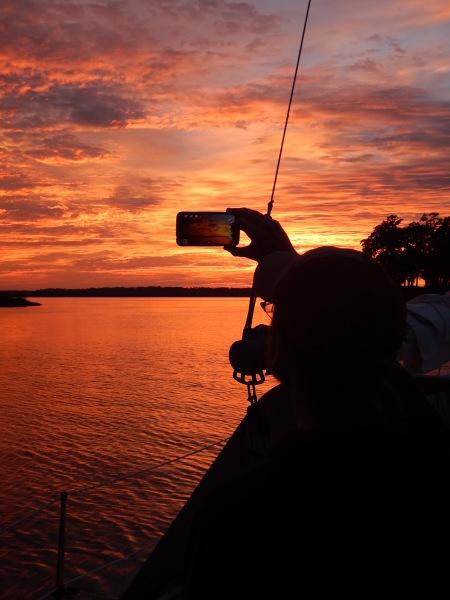 Hilton Head sailing charter instruction sunset cruise