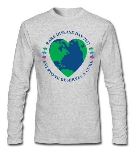 Rare Disease Day 2017 - men's long sleeve t-shirt