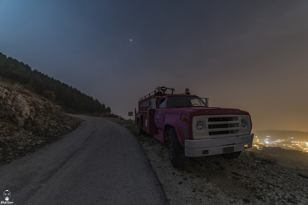 Jihad Asmar Photography old fashion truck car shouf reserve