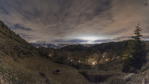 Jihad Asmar Photography cedars ground campsite panoramic view