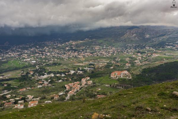 Jihad Asmar Photography cloudy sawfar village landscape