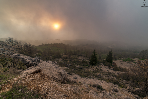 Jihad Asmar Photography sunset shouf reserve cloudy