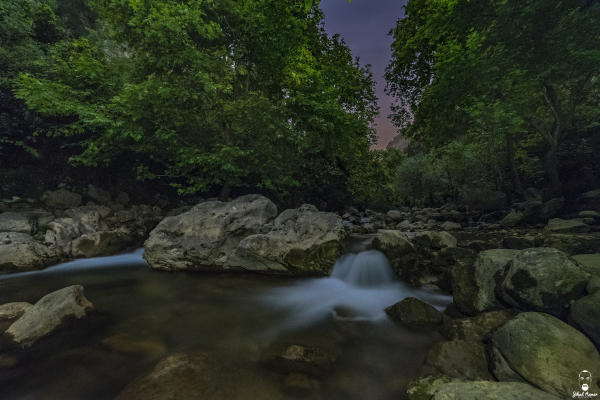 Jihad Asmar Photography river silky water yahchouf