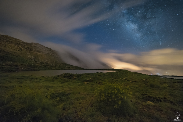 Jihad Asmar Photography milky way cloudy weather