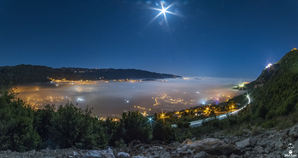Jihad Asmar Photography over the fog ehmej