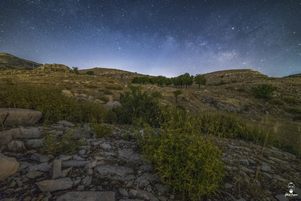 Jihad Asmar Photography falougha night milky way
