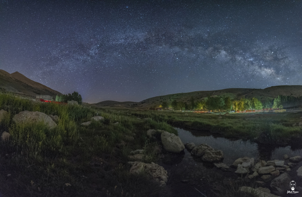 Jihad Asmar Photography panoramic milky way