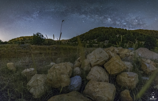 Jihad Asmar Photography shouf reserve panoramic milky way