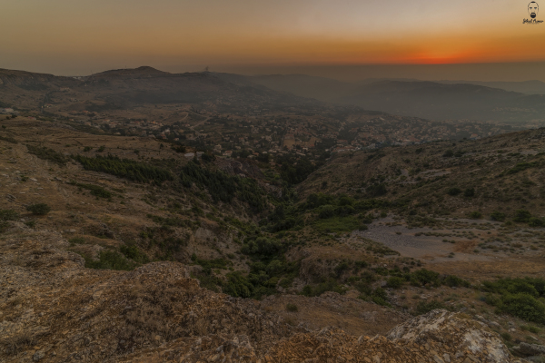 The Valley, Lebanese Landscape Photographer Sunset Jihad Asmar