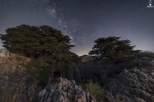 Lebanese Landscape Photographer, Lebanese Photographer, Milky Way, Lebanon, Jaj, Jihad Asmar