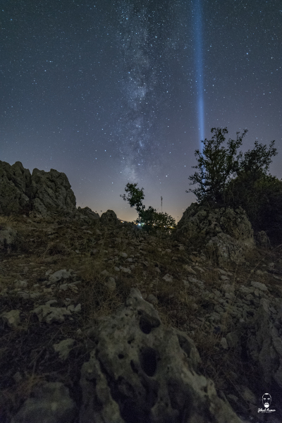 Lebanese Landscape Photographer, Lebanese Photographer, Milky way, Dinosaur