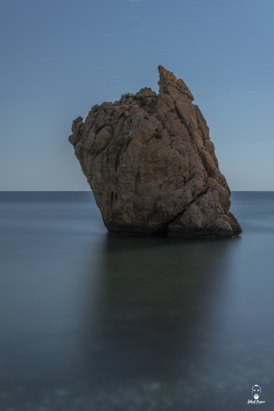 Lebanese Landscape Photographer, Lebanese Photographer, Night Aphrodites Rocks