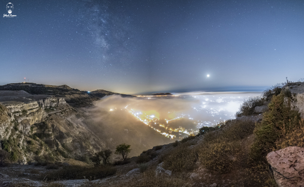 Lebanese Landscape Photographer, Lebanese Photographer, Milky way Lebanese Mountains