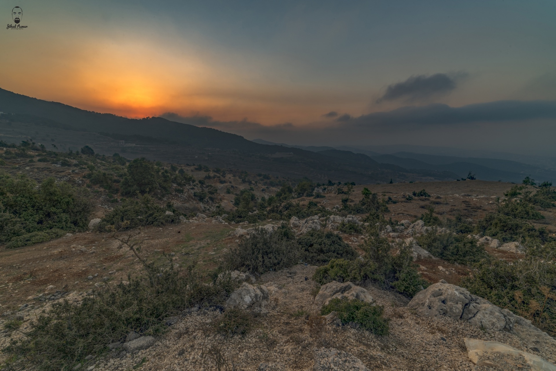 Lebanese Landscape Photographer, Lebanese Photographer, Sunset lebanon photography