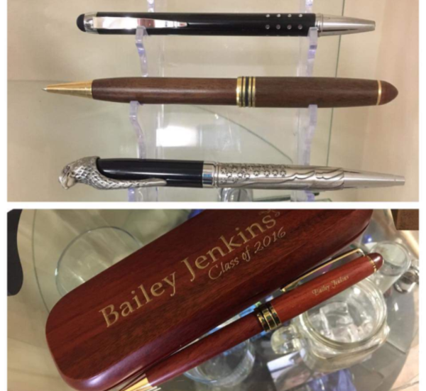 ENGRAVED PENS, PENCILS, LETTER OPENERS