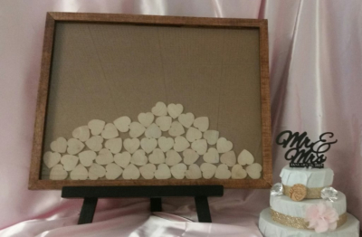 Wedding Guest Book Drop Box