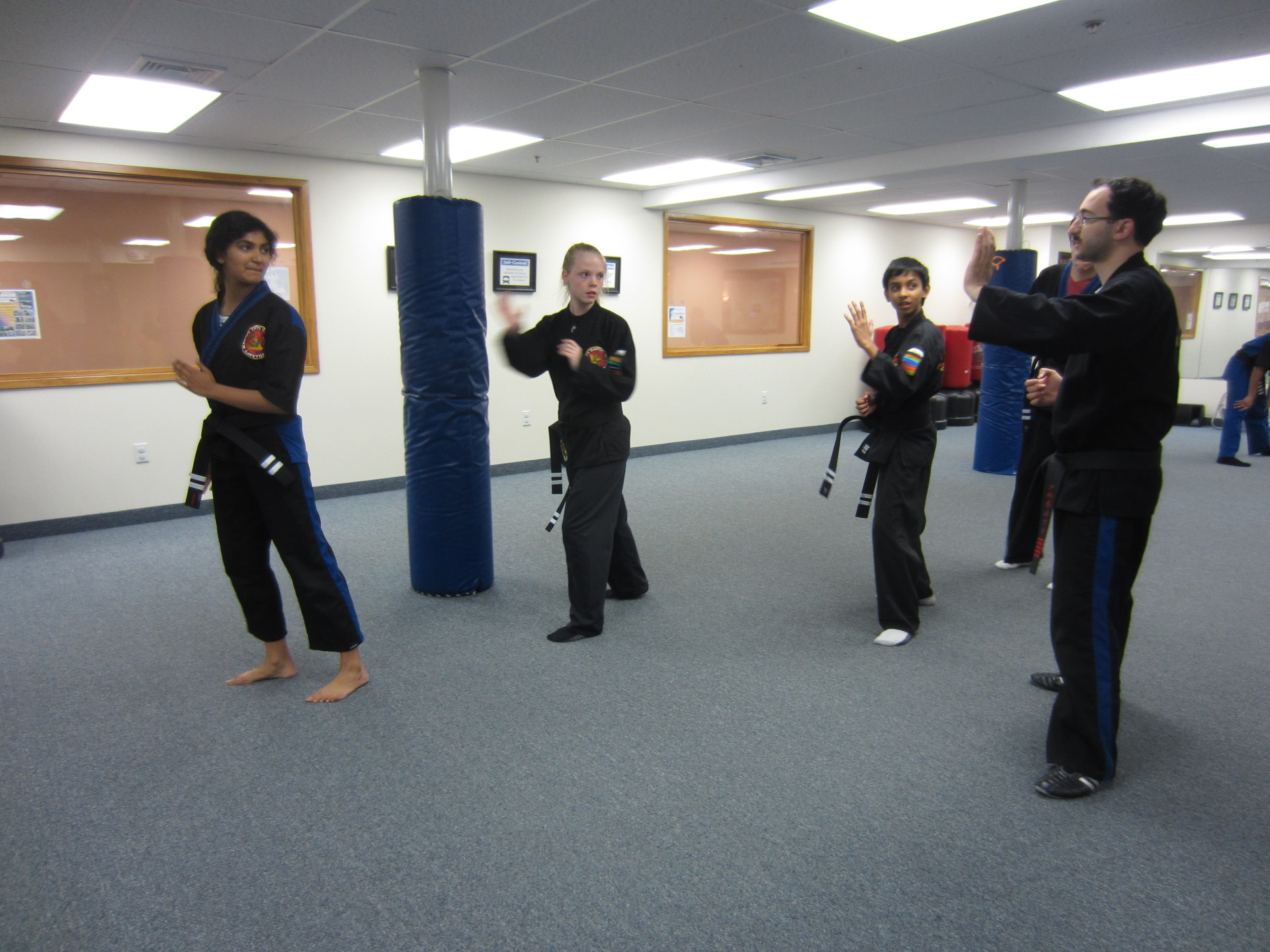 Teen Karate for Middle and High School Students