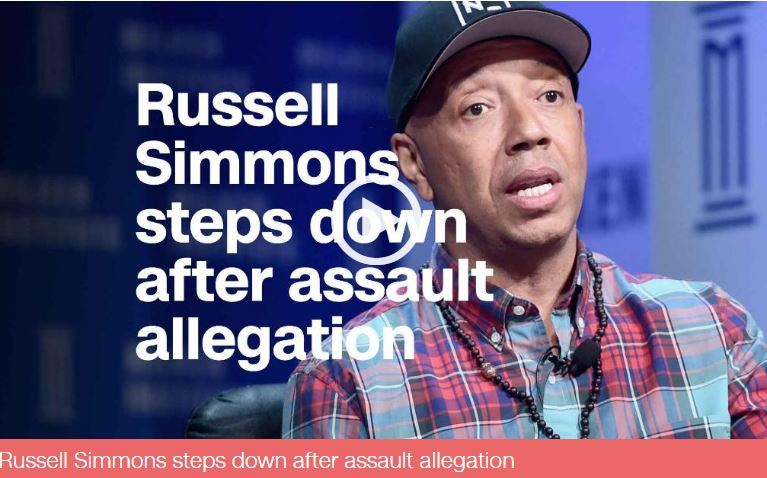 Russell Simmons steps down after sexual assault allegation