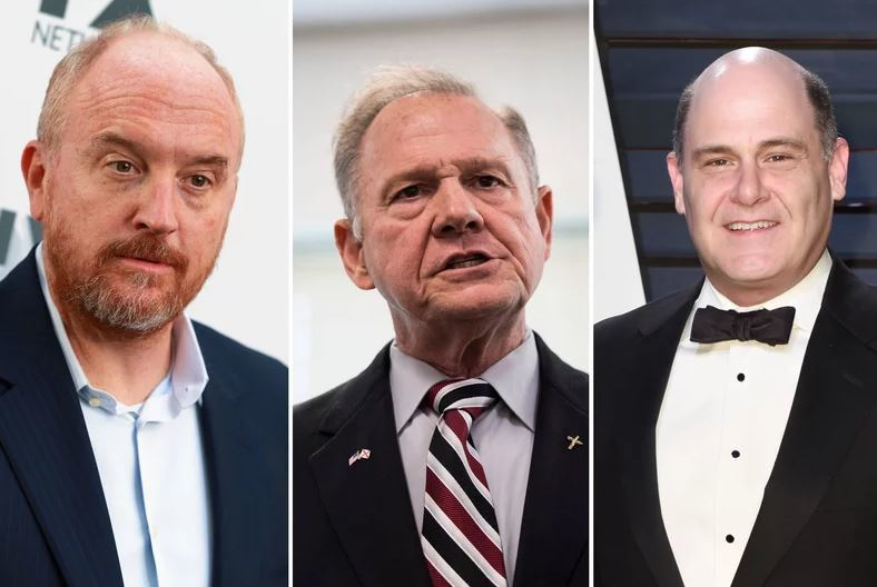 Here Are All the Public Figures Who've Been Accused of Sexual Misconduct After Harvey Weinstein