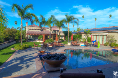 luxury real estate millionaire listing for sale drone photography