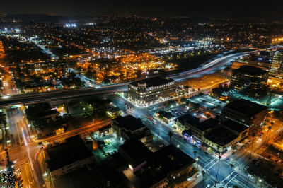 drone aerial media photography downtown Riverside Inland Empire City Views