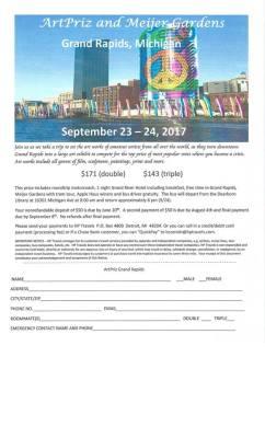 ArtPriz and Meijer Garden Grand Rapids September 23rd - 24th 2017