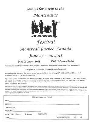 Montreaux  June 27 - 30, 2018