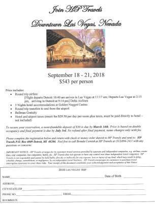 Downtown Las Vegas September 18 - 21, 2018