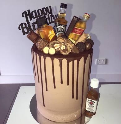 Loaded Birthday Cake