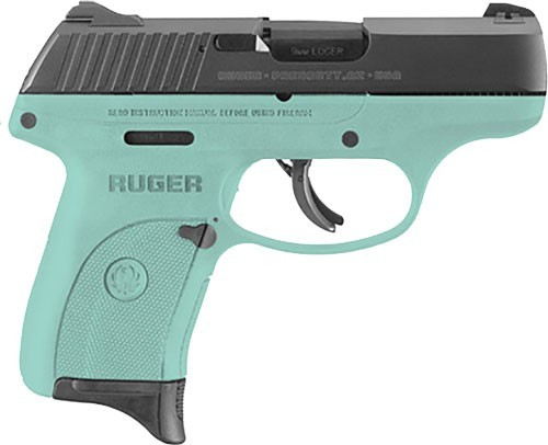 Ruger LC9S-Turquoise