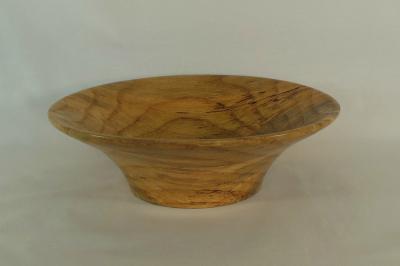 "#054       Pin Oak Bowl       9.25"" wide by 3"" high       $65.00"