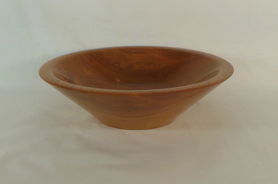 """#079       Cherry Bowl       9.5"""" wide by 2.75"""" high       $65.00"""
