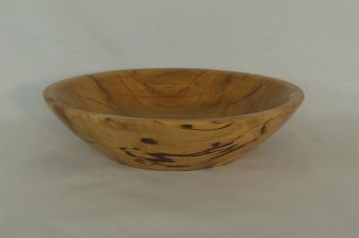 """#084       Spalted Beech Bowl       7"""" high by 2"""" high       $45.00"""