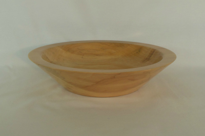 """#110       Norway Maple Bowl       11.75"""" wide by 2.75"""" high       $85.00"""