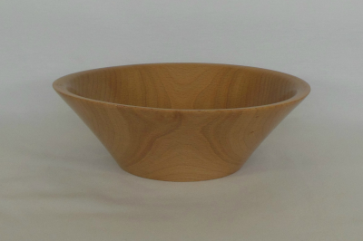 """#125       Maple Bowl       8.5"""" wide by 3"""" high       $40.00"""
