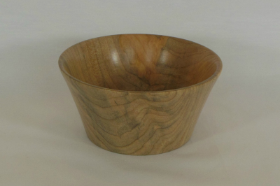 """#215       Maple Bowl       5"""" wide by 2.5"""" high       $30.00"""