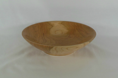 """#414       Cherry Bowl       9.25"""" wide by 2.5"""" high       $50.00"""