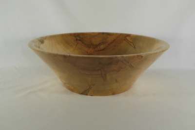 """#419       Ambrosia Maple Bowl       15.25"""" wide by 5"""" high       $210.00"""