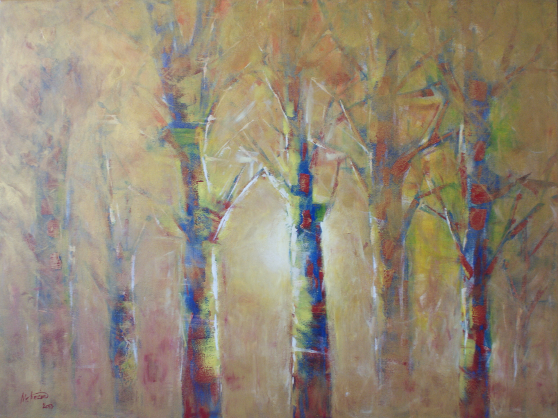 Enchanted Forest, 36x48, Acrylic on Canvas