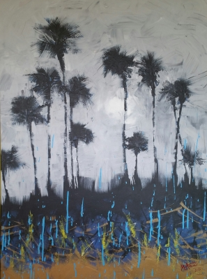 Survivors,  30x40, Acrylic on Canvas