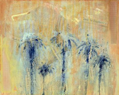 The Fallen, 16x20, Mixed Media on Canvas