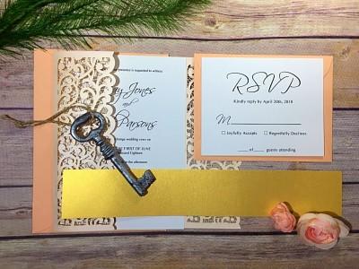 Elegant Simple Wedding Stationary