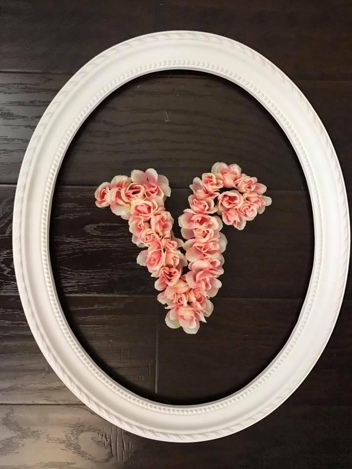 Full Floral Letter