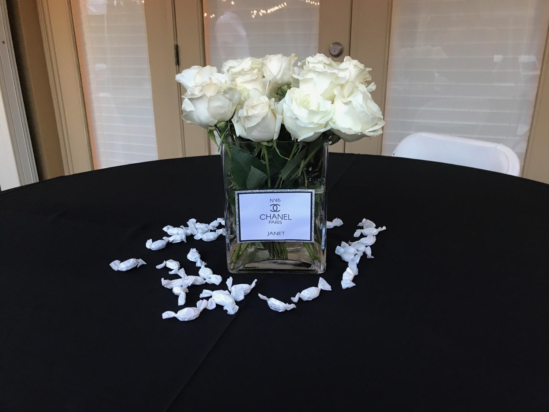 Vase Labels