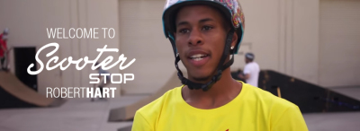 WELCOME TO SCOOTER STOP | ROBERT HART