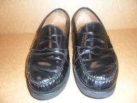Men's dress shoe's after a shine