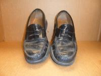 Mens Dress shoe before repair