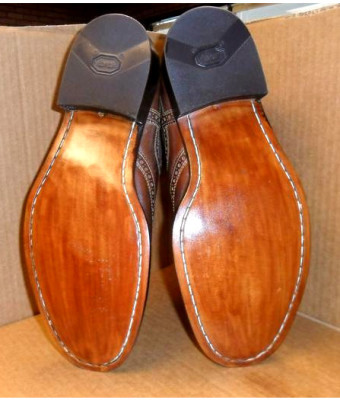 Men's Full Sole and Heel Shoe Repair