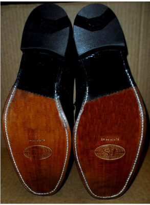 Men's Half Sole and Heel Shoe Repair