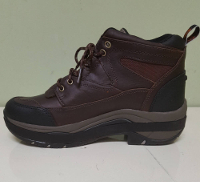 Shoe Lift on Brown Boot